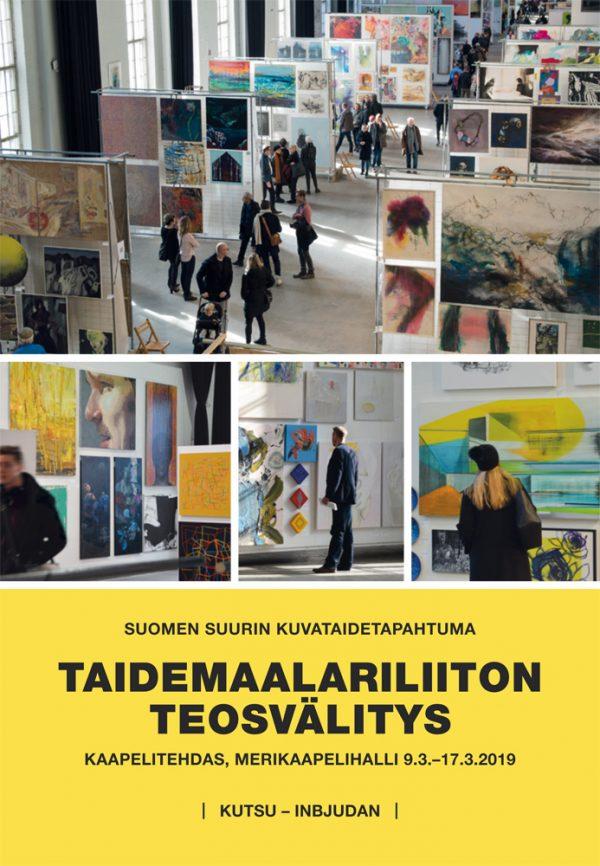 Taidemaalariliiton teosvälitys 2019