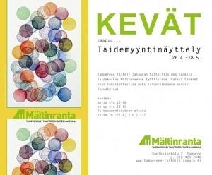 Kevät taidemyyntinäyttely 2014