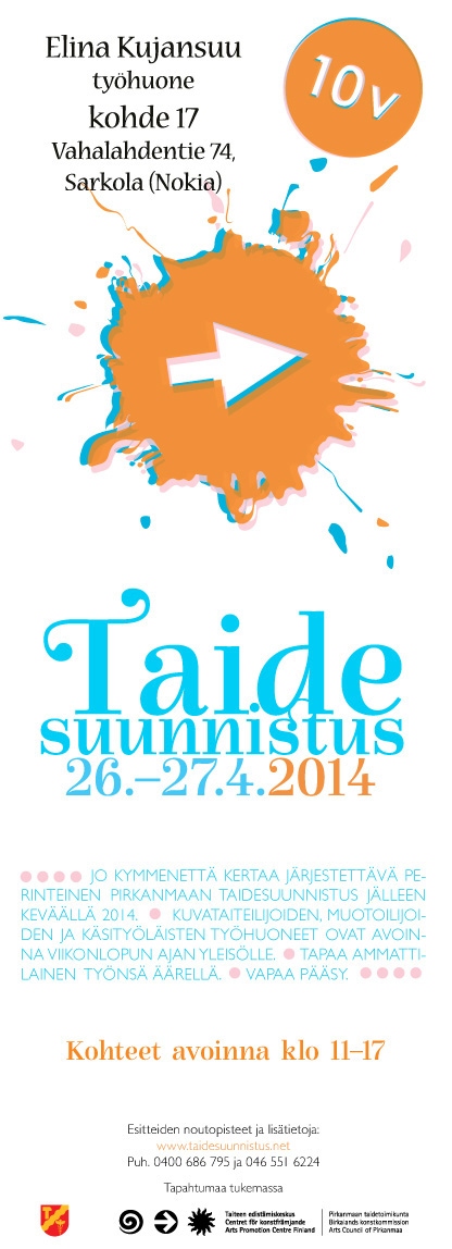Taidesuunnistus 26.-27.4.2014