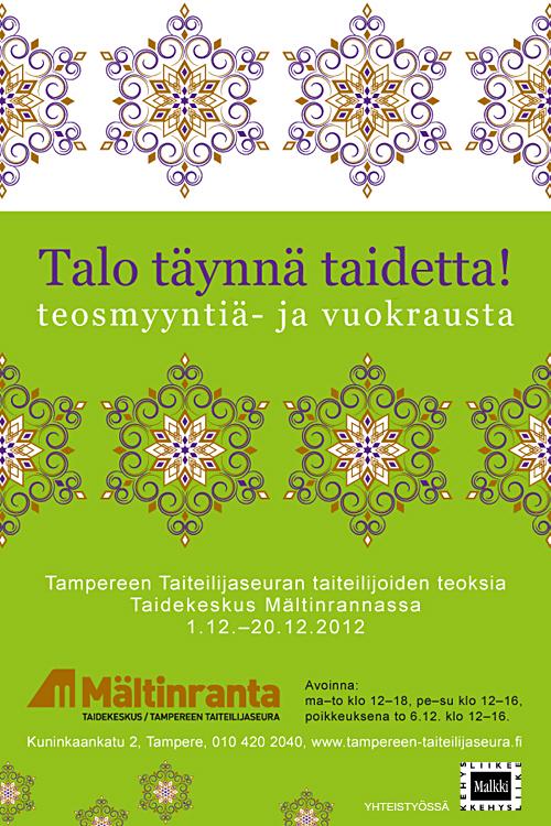 Tampereen taiteilijaseuran teosvälitys