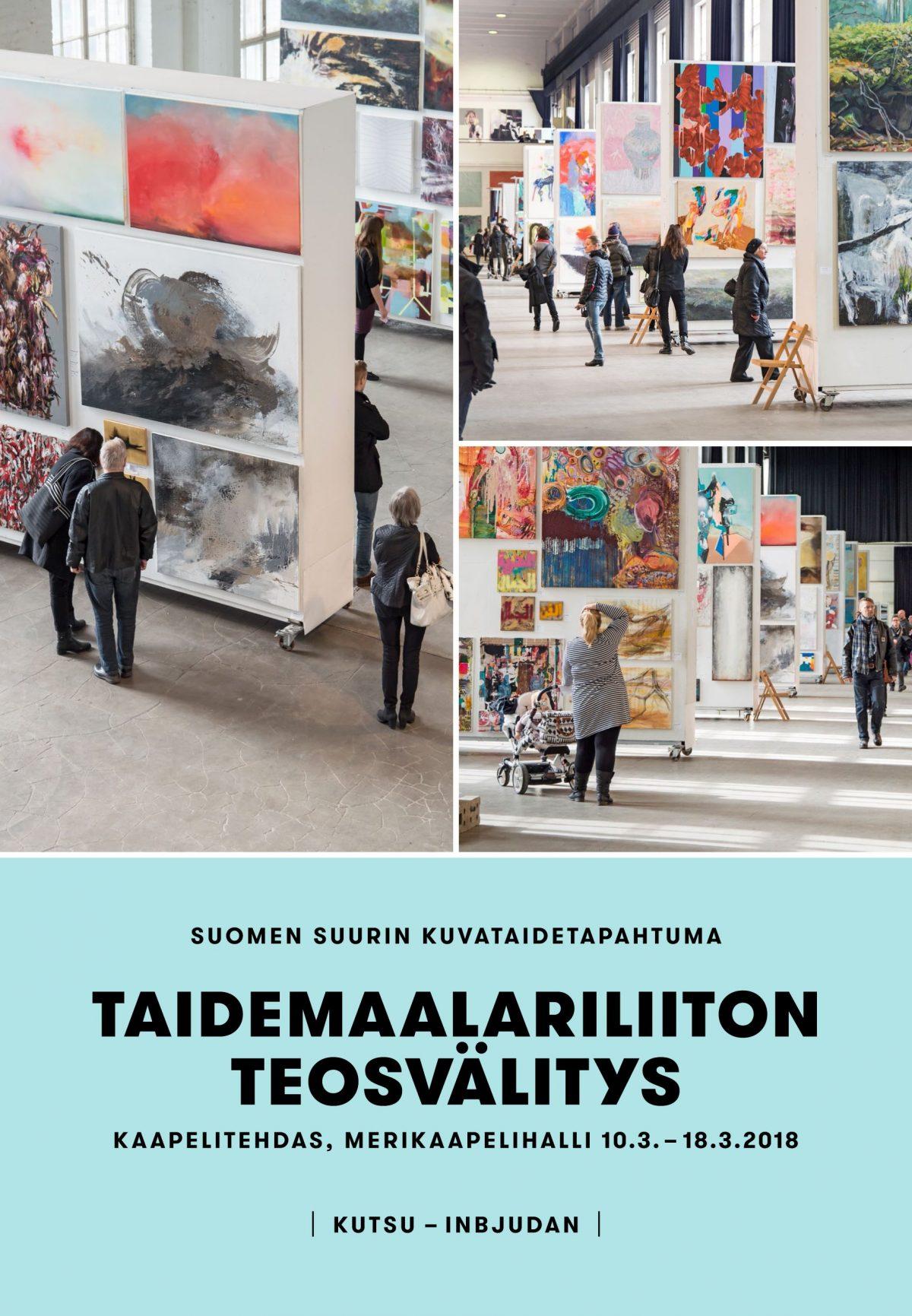Taidemaalariliiton teosvälitys 2018